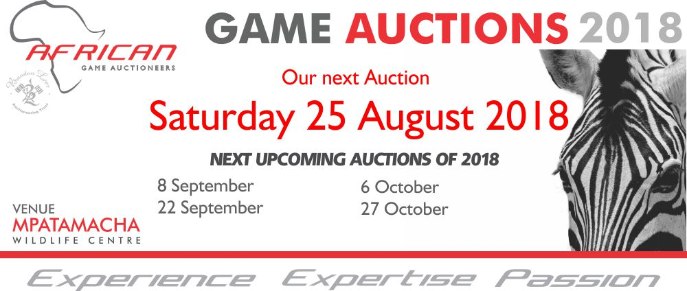 Upcoming auctions AGA Aug 2018